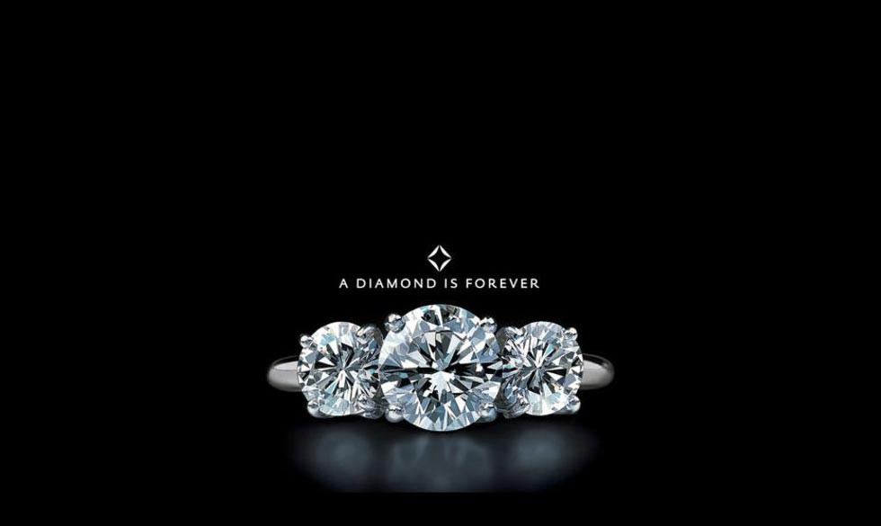 A diamond is forever.