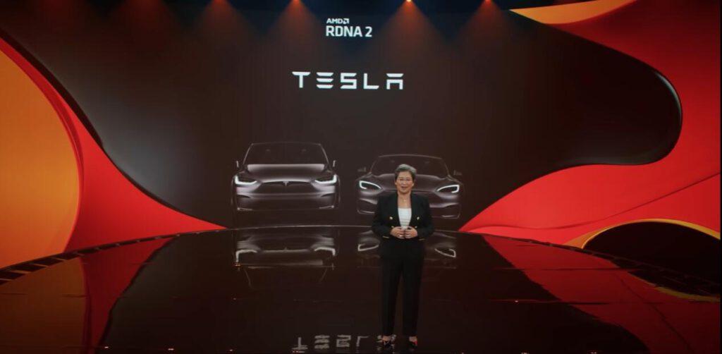 AMD將與Tesla合作